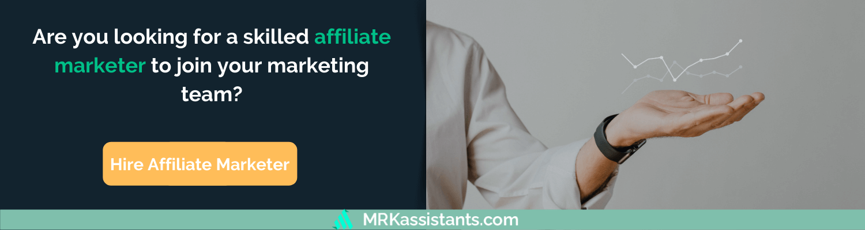 hire affiliate marketers remote