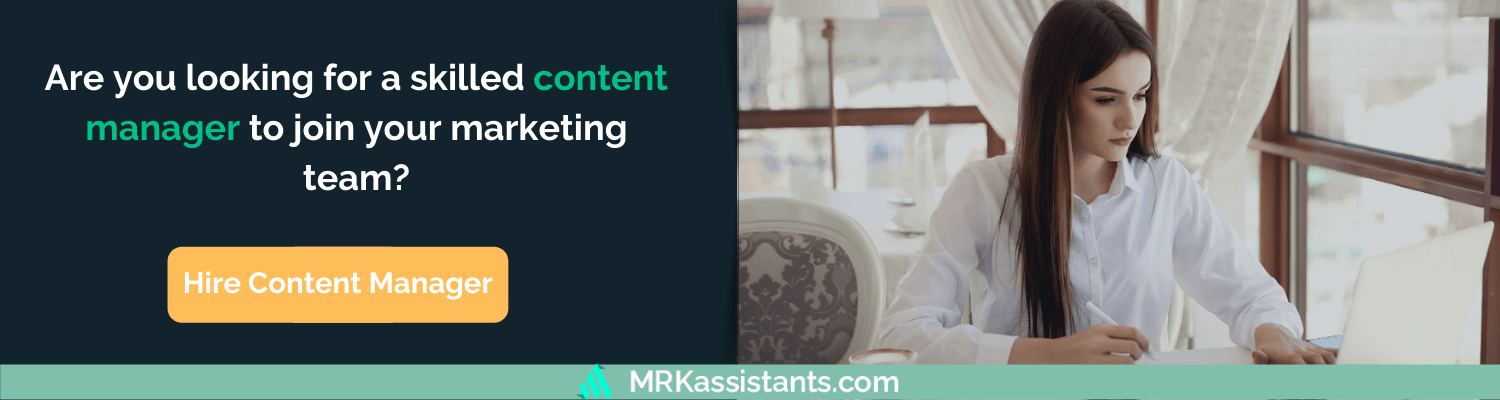 hire content marketing manager
