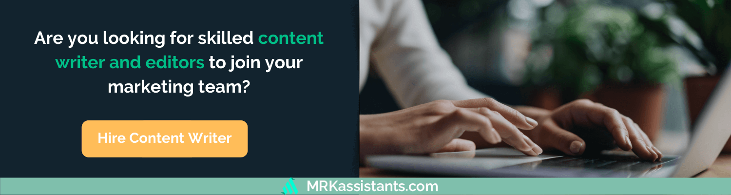 hire content writers and editors