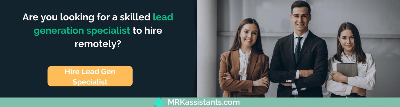 hire lead gen specialist