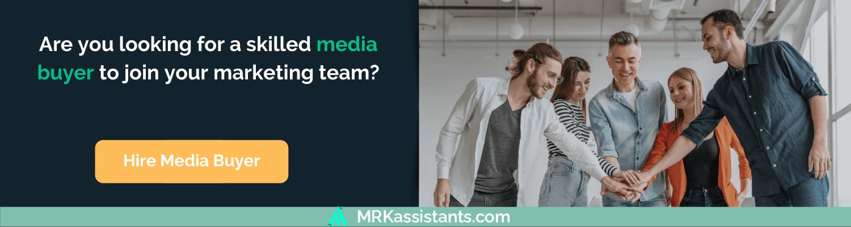 hire media buyer
