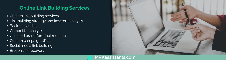 online link building services