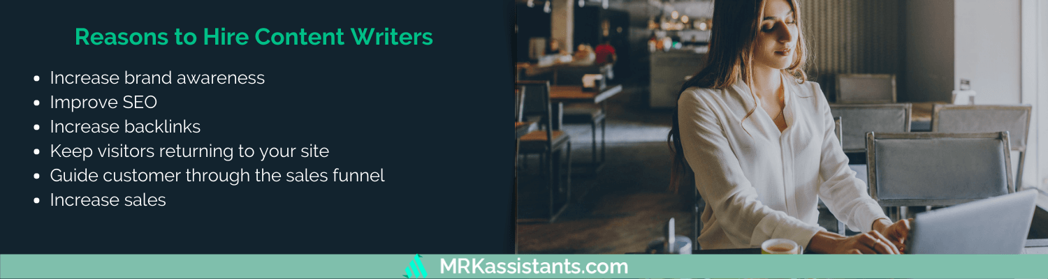 reasons to hire remote content writer
